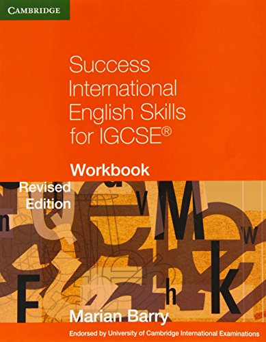 9780521140904: Success International English Skills For Igcse. Workbook (Cambridge International IGCSE)