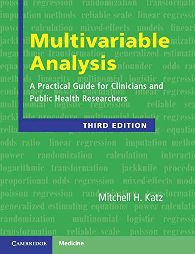 9780521141079: Multivariable Analysis: A Practical Guide for Clinicians and Public Health Researchers