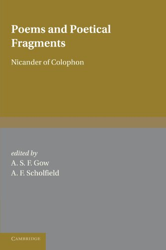 9780521141147: Poems and Poetical Fragments