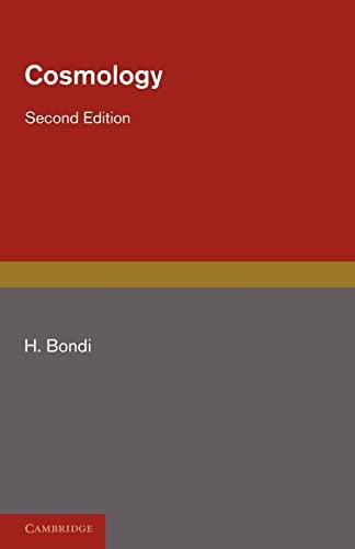 9780521141185: Cosmology Paperback (Cambridge Monographs on Physics)