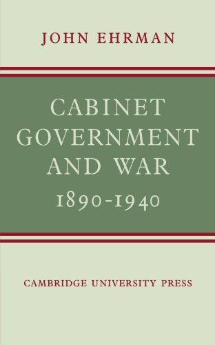 9780521141222: Cabinet Government and War, 1890-1940
