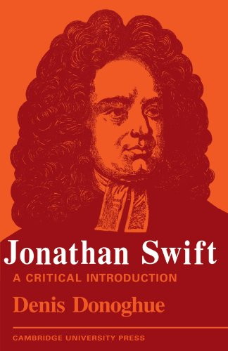 Jonathan Swift: A Critical Introduction: Denis Donoghue