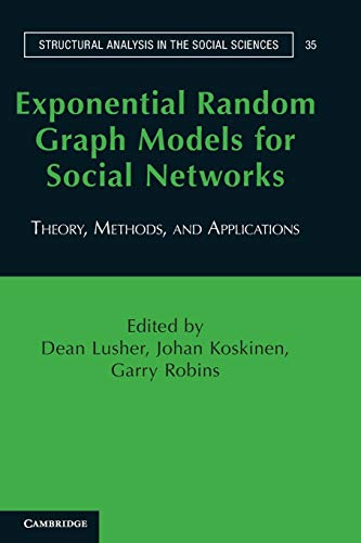 9780521141383: Exponential Random Graph Models for Social Networks: Theory, Methods, and Applications (Structural Analysis in the Social Sciences)