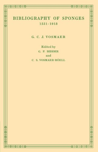 9780521141499: Bibliography of Sponges 1551-1913