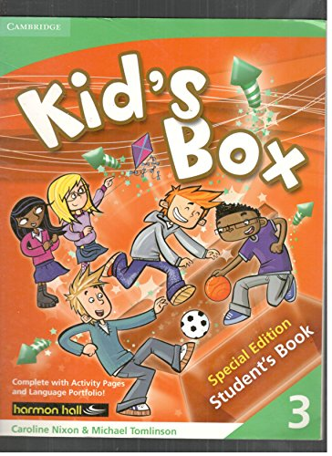 9780521141727: Kid's Box Level 3 Student's Materials Harmon Hall Edition