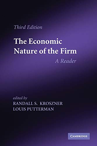 9780521141772: The Economic Nature of the Firm 3rd Edition Paperback