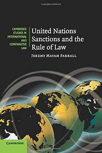 9780521141987: United Nations Sanctions and the Rule of Law