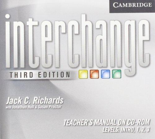 9780521142021: Interchange All Levels Teacher's Manual on CD-ROM