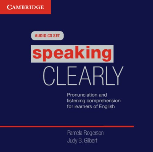 9780521142205: Speaking Clearly Audio CDs (3): Pronunciation and Listening Comprehension for Learners of English (Cambridge Copy Collection)
