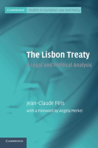 9780521142342: The Lisbon Treaty Paperback (Cambridge Studies in European Law and Policy)