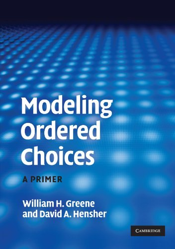 Modeling Ordered Choices (Paperback): William H. Greene