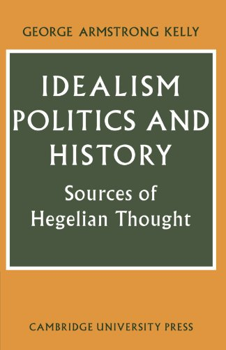 9780521143226: Idealism, Politics and History: Sources of Hegelian Thought (Cambridge Studies in the History and Theory of Politics)