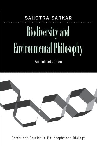 9780521143424: Biodiversity and Environmental Philosophy: An Introduction (Cambridge Studies in Philosophy and Biology)