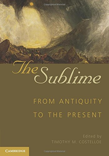 9780521143677: The Sublime: From Antiquity to the Present