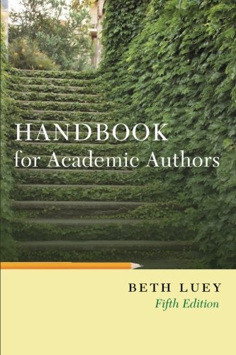 HANDBOOK FOR ACADEMIC AUTHORS [PAPERBACK]