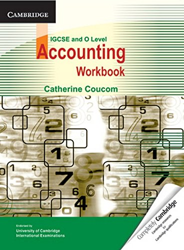 9780521144155: Accounting Workbook IGCSE/O Level