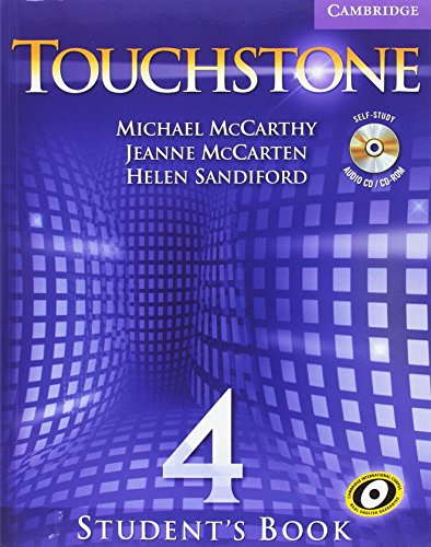 9780521144247: Touchstone Blended Online Level 4 Student's Book with Audio CD/CD-ROM and Interactive Workbook