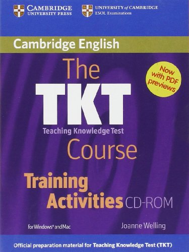 9780521144421: The TKT Course Training Activities CD-ROM