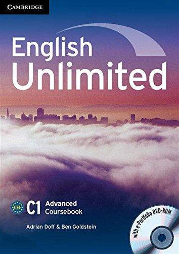 9780521144452: English Unlimited Advanced Coursebook with e-Portfolio