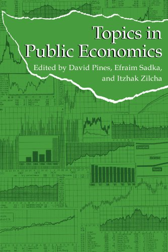 9780521144865: Topics in Public Economics: Theoretical and Applied Analysis