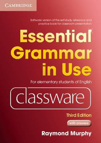 9780521145152: Essential Grammar in Use Elementary Level Classware DVD-ROM with answers