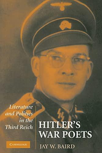 9780521145633: Hitler's War Poets: Literature and Politics in the Third Reich