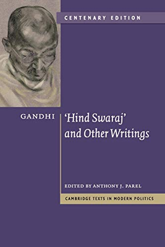 9780521146029: Gandhi: 'Hind Swaraj' and Other Writings Centenary Edition (Cambridge Texts in Modern Politics)
