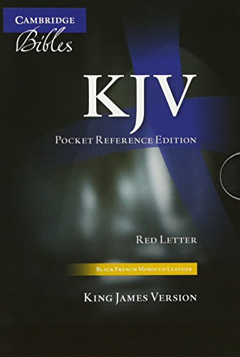 9780521146074: KJV Pocket Reference Edition KJ243:XRZ Black French Morocco Leather, with Zip Fastener