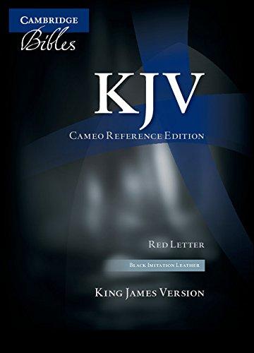 KJV Cameo Reference Edition KJ452:XR Black Imitation: Baker Publishing Group