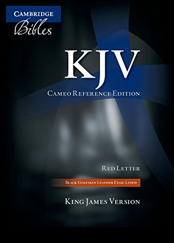 9780521146128: KJV Cameo Reference Edition KJ456:XRE Black Goatskin Leather