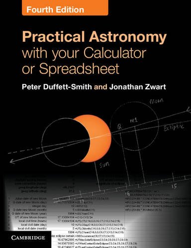 9780521146548: Practical Astronomy with your Calculator or Spreadsheet