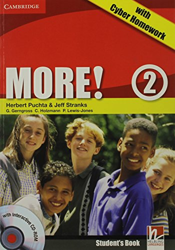 9780521146708: More! 2 Student's Book with Interactive CD-ROM with Cyber Homework