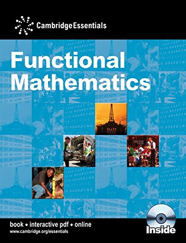 9780521147125: Cambridge Essentials Functional Mathematics Book + Cd-rom