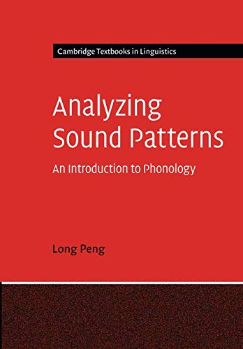 9780521147408: Analyzing Sound Patterns Paperback (Cambridge Textbooks in Linguistics)