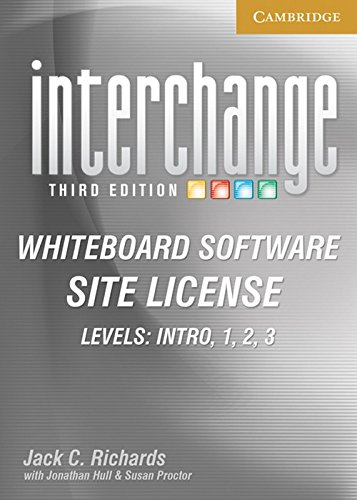9780521147583: Interchange Third Edition All Levels Whiteboard Software and Site License Pack