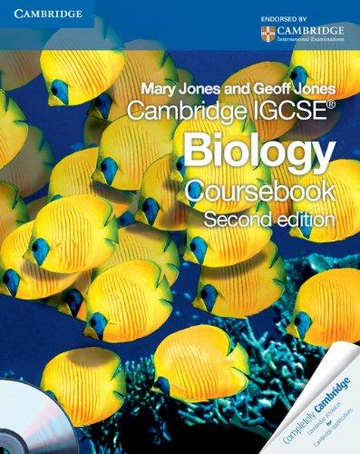 9780521147798: Cambridge IGCSE Biology Coursebook with CD-ROM (Cambridge International Examinations)