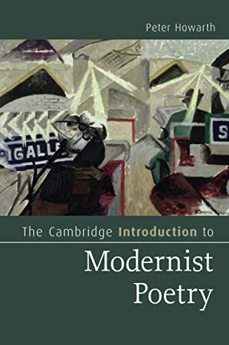 9780521147859: The Cambridge Introduction to Modernist Poetry (Cambridge Introductions to Literature)
