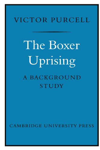 9780521148122: The Boxer Uprising: A Background Study