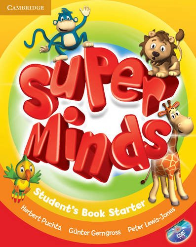 9780521148528: Super Minds Starter Student's Book with DVD-ROM
