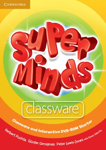 9780521148542: Super Minds Starter Classware and Interactive DVD-ROM