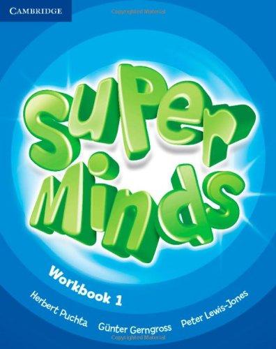 9780521148573: Super minds. Workbook. Per la Scuola elementare. Con espansione online: Super Minds 1 Workbook