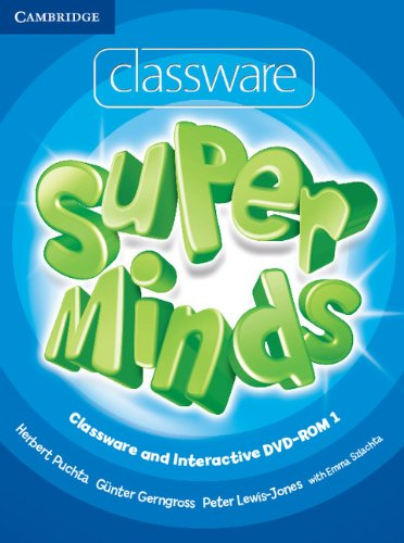 9780521148580: Super Minds Level 1 Classware and Interactive DVD-ROM