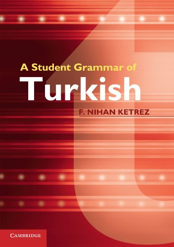 9780521149648: A Student Grammar of Turkish