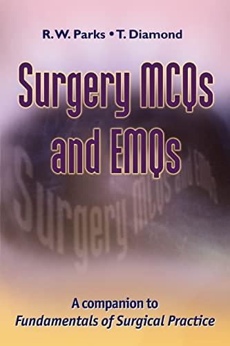9780521149860: Surgery MCQs and EMQs