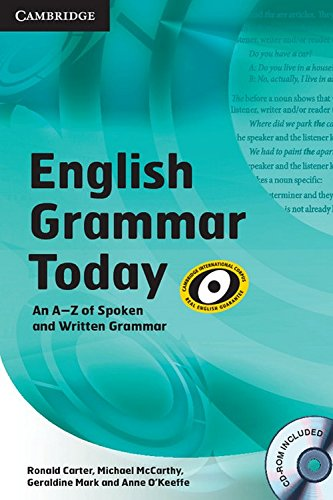 9780521149877: English Grammar Today Book with CD-ROM and Workbook