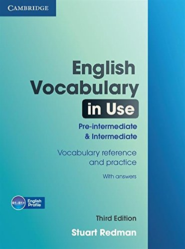 9780521149884: English Vocabulary in Use 3rd Pre-intermediate and Intermediate with Answers