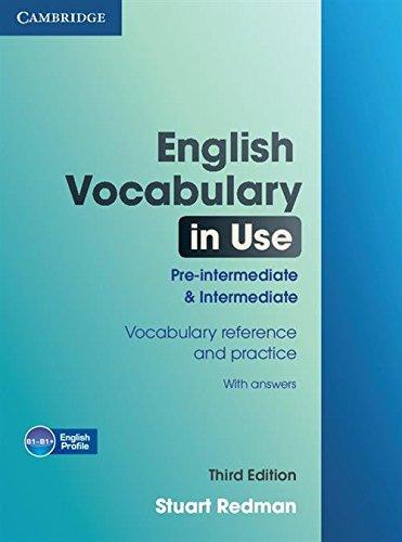 9780521149884: English vocabulary in use. Pre-intermediate & intermediate. Con espansione online. Per le Scuole superiori