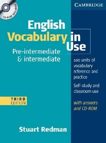 9780521149891: English vocabulary in use. Pre-intermediate and intermediate. Con espansione online. Per le Scuole superiori. Con CD-ROM