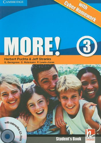 9780521149914: More! Level 3 Student's Book with Interactive CD-ROM with Cyber Homework