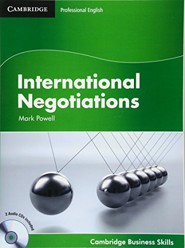 9780521149921: International Negotiations Student's Book with Audio CDs (2)